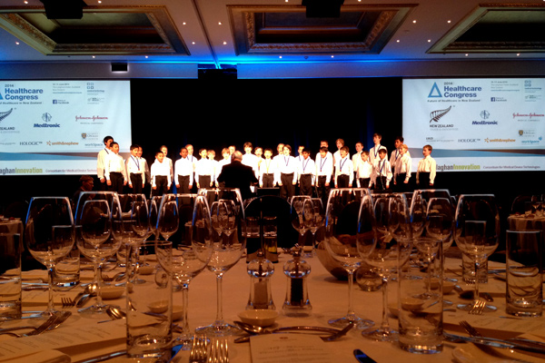 Auckland Boys Choir Lanham Hotel performance