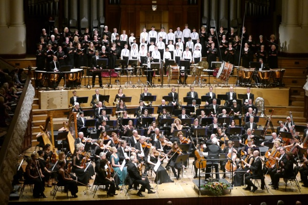 Auckland Boys Choir & NZSO - Mahler's Third Symphony